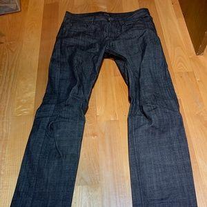 APC Gray Black Petit Standard Jeans 30x33